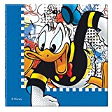 Disney Donald Mania Two Ply Paper Napkin...