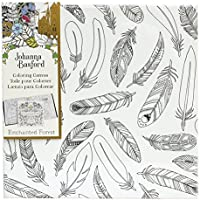 Johanna Basford - Coloring Canvas - Feathers /Toy