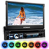 XOMAX XM-DTSB930 Autoradio / Moniceiver + Bluetooth Freisprecheinrichtung & Musikwiedergabe + 18cm / 7' HD Touchscreen Display + Audio & Video: MP3...