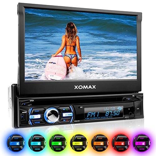 XOMAX XM-DTSB930 Autoradio / Moniceiver + Bluetooth Freisprecheinrichtung & Musikwiedergabe + 18cm / 7