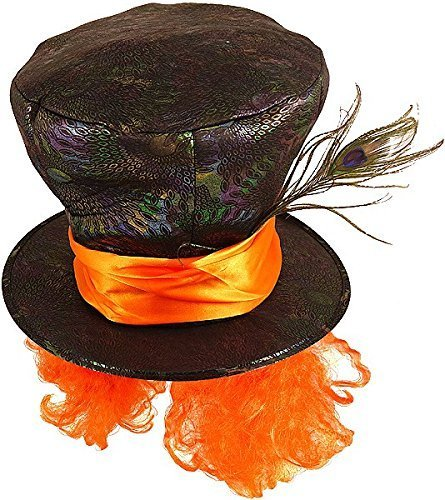 Mad Hatter Hat and Hair Accessory Fancy (Kids Hatter Für Kostüm Mad)