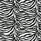 Wellness Nicki Fleece Stoff Meterware Tierfell Zebra