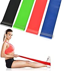Bloomun Exercise Band, Loop Bands, Stretch Band for Exercise, Legs, Gym, Workout, Pull ups, - Light, Medium, Resistance Loop Bands For Fitness, Butt, shoulder, Glutes, Yoga, Physical Therapy, Home exercise Training for Women, Men, 1 Pcs