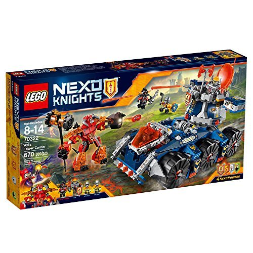LEGO 70322 Nexo Knights Axl Tower Carrier Construction Set by LEGO