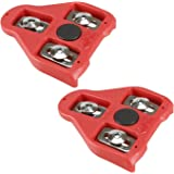 CyclingDeal Compatible with Peloton Look Delta (9 Degree) Bike Cleats - Indoor Cycling & Road Bike Bicycle Cleat Set - Fully