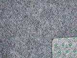 Ta-Bo Lifestyle Premium Kunstrasen Rasenteppich grau 10 mm mit Noppen 400 cm breit, 200x400 cm