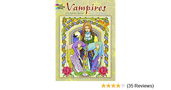 Vampires Coloring Book Dover Books Amazoncouk Marty Noble 0800759478484