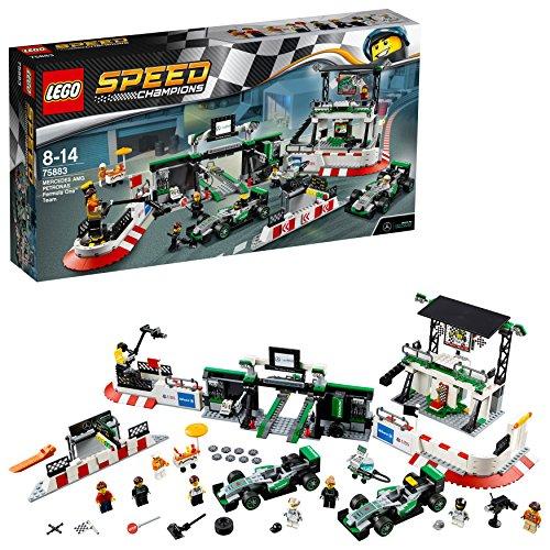 LEGO Speed Champions - Equipo de Formula One Mercedes AMG Petronas (75884)