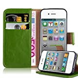 Cadorabo Coque pour Apple iPhone 4 / iPhone 4S en Vert PRÈ – Housse Protection...