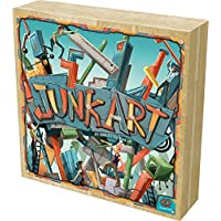 Asmodee Junk Art Board Game Deluxe Wooden Version