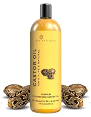 Rey Naturals Cold Pressed Castor Oil, 200ml
