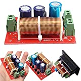 NEW Regolabile alti/bassi divisore di frequenza audio altoparlanti a 2 vie crossover Filtri