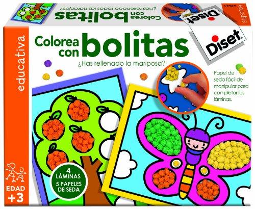 Imagen principal de Diset 63634 - Colorea Con Bolitas
