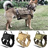 Pet Protector Police K9 Tactical Training Hundegeschirr Militär verstellbar Molle Nylon Weste