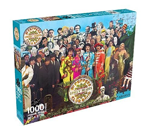 Aquarius Beatles Sgt Pepper Jigsaw Puzzle - 1000 Piece by