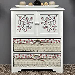 chest of drawers hallway bathroom cabinet 60 x 73 cm shelf sideboard. Black Bedroom Furniture Sets. Home Design Ideas