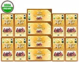 Pride Of India - Organic Energize Ayurveda Tea, 25 Count (6-Pack): BUY 1 GET 1 FREE (12 BOXES TOTAL)