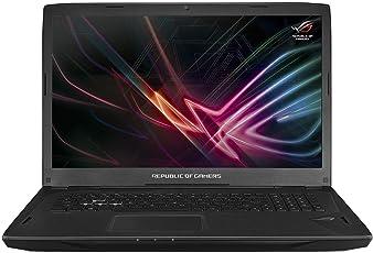 ASUS ROG GL702VI (90NB0G91-M00090) 43,9 cm (17,3 Zoll, FHD, 120Hz, G-Sync, Matt) Gaming (Intel Core i7-7700HQ, 16GB RAM, 256GB SSD, 1TB HDD, NVIDIA GTX1080 (8GB), Win 10) Schwarz [Altes Modell]