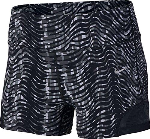 Nike Damen 3 Zoll Sidewinder Epic Lux Shorts Oberbekleidung, Schwarz, S