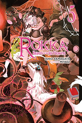 Rokka: Braves of the Six Flowers, Vol. 5 (light novel) por Ishio Yamagata