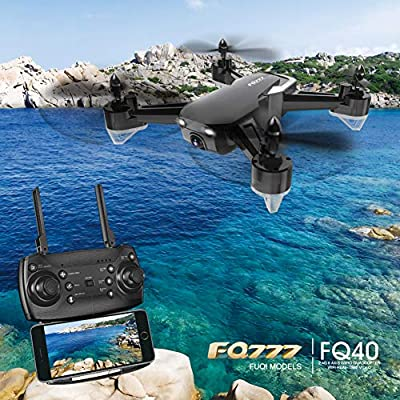 Ydq Potensic Drone With 720P HD Camera, FPV RC GPS Drone Live Video With Brushless Motor-GPS Smart Return Home, Follow Me, Altitude Hold, High Capacity Battery Etc, Equipped