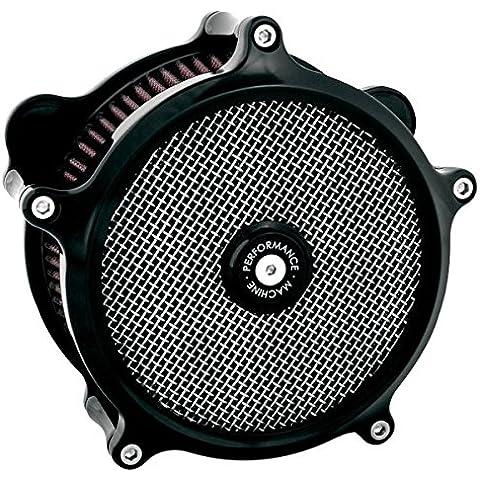Performance Machine Super Gas Filtro de aire negro (Harley Davidson 1993-2011)