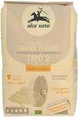 """Alce Nero Farina grano tenero tipo 2"""" macinata a pietra"""