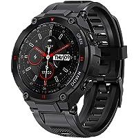 ANSUNG Montre Connectée Homme,Montre Intelligente Homme IP67 Etanche Bracelet Connecté Cardio Podometre Smartwatch Sport…