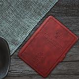 MOCA SmartShell PU Leather Folio Flip Case for Amazon Kindle Paperwhite - 6