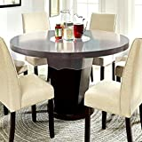 E-Retailer Waterproof Transparent Round Table Cover (Suitable For 4 Seater, 60 Inch Diameter)