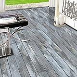 FLAMEER Holz Klebefolie Holzoptik Möbelfolie Selbstklebende Folie Tapete Aufkleber für Boden Wand - # 1