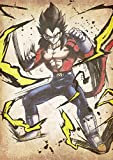 "Poster Dragon Ball ""Wanted"" Vegeta SS4 - A3 (42x30 cm)"