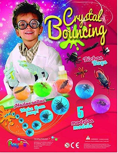 10 x Bouncing Bugs In Slime Balls - Ideal Party Tasche Spielzeug, Pinata Preise, PTA Preise. (Bug-spielzeug Für Jungen)