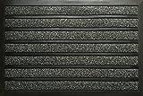 ID mate Combi Brush, fibra sintética, gris, 80x 120x 0,6cm)..
