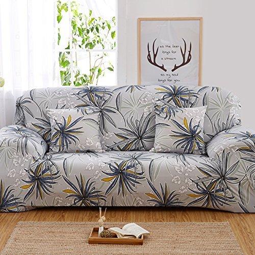 PengXiang Slipcovers, Stollen für Möbel, Displayschutzfolie, elastisch, Rutschfest Schaum, 1Stück Couch-Shield, Polyester, Spandex-Stoff, Polyester-Mischgewebe, Pattern-c, Loveseat57-70 -