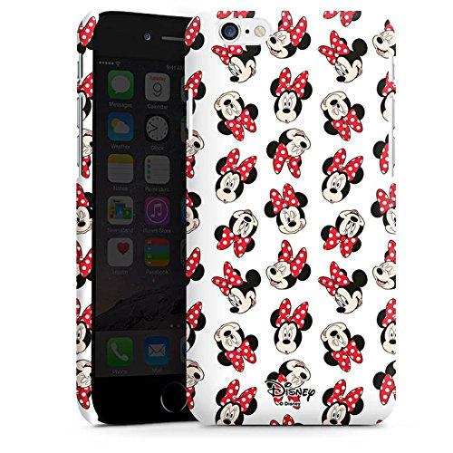 Apple iPhone 7 Plus Silikon Hülle Case Schutzhülle Disney Minnie Mouse Fanartikel Geschenk Premium Case matt