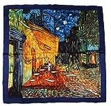 Nella-Mode SEIDENTUCH Seidenschal nach van Gogh: