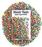 Rainbow Mix Confetti Edible Sugar Sprinkles 25g Cake & Cupcake Decorations