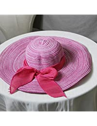 GAOJUAN 2018 Nuevo Sombrero De Paja Sombrero Creativo para El Sol Sombrero  De Playa para Protección 80c723a3bdc