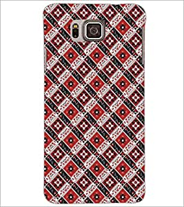 PrintDhaba Pattern D-5474 Back Case Cover for SAMSUNG GALAXY ALPHA (Multi-Coloured)