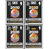 Gibraltar 489-492 (completa.edición.) 1985 Poliomielitis (sellos para los coleccionistas)