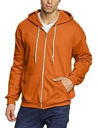 Anvil Men's Zip-Front Fleece Hoodie