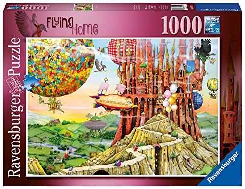 hompson–Flying Home Spielset Puzzle, 1000Einzelteile (Um Baloons)
