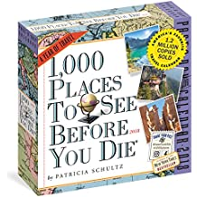 1,000 Places to See Before You Die 2018 Calendar