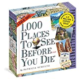 1000 Places to See Page-A-Day Calendar 2018