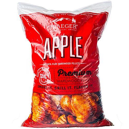 Traeger Hartholz Pellets Apfel (Apple) 9 kg – Räuchern Smoken Chips