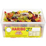 HARIBO Jelly Babies Jelly Men, bulk sweets, 1.08 kg tub