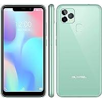 OUKITEL C22 Smartphone Ohne Vertrag (2021),128 GB + 4 GB Android 10 Handy mit 256 GB Erweiterbar, 5,86 '' Display,4000…