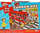 Grafix The Big Red London Bus Floor Puzzle