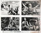 Original Photo The Ten Commandments Charlton Heston Yul Brynner Cecil B. DeMille